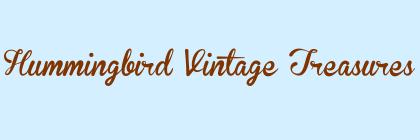 Hummingbird Vintage Treasures